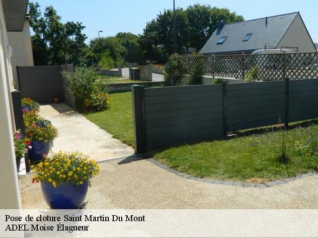 Pose de cloture  saint-martin-du-mont-21440